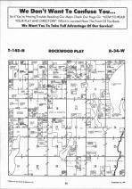 Rockwood T145N-R34W, Hubbard County 1992 Published by Farm and Home Publishers, LTD